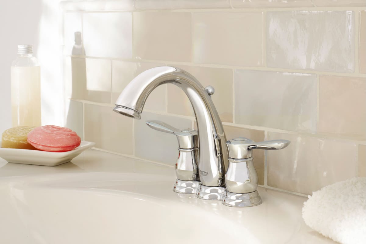 Bathroom faucets brushed nickel