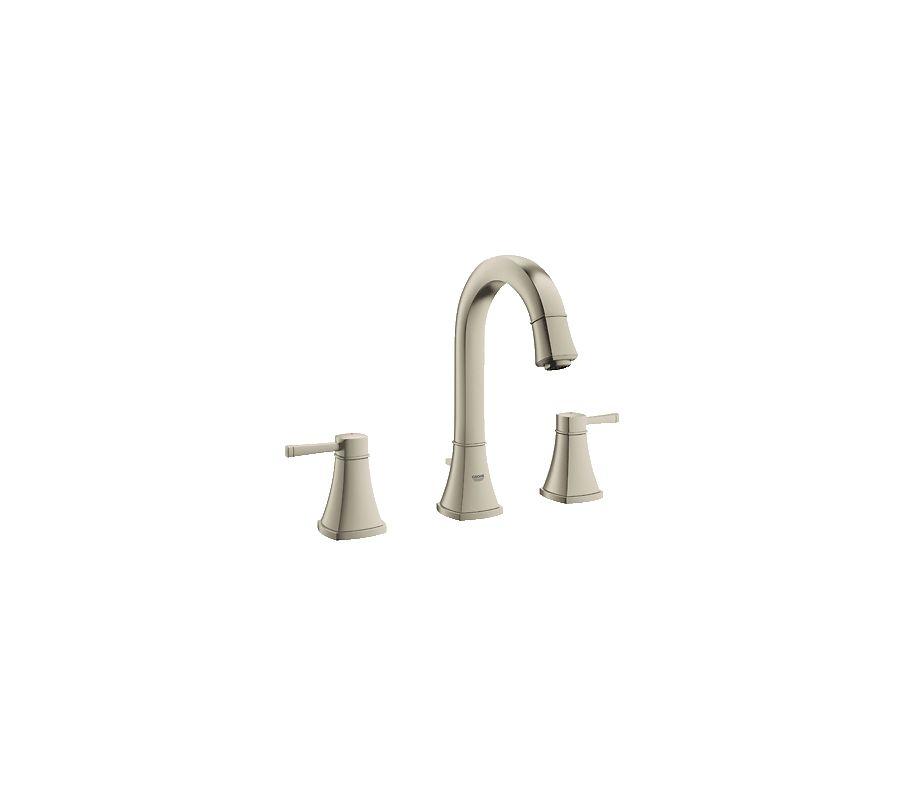 Grohe 20419en0 Brushed Nickel Grandera Bathroom Faucet