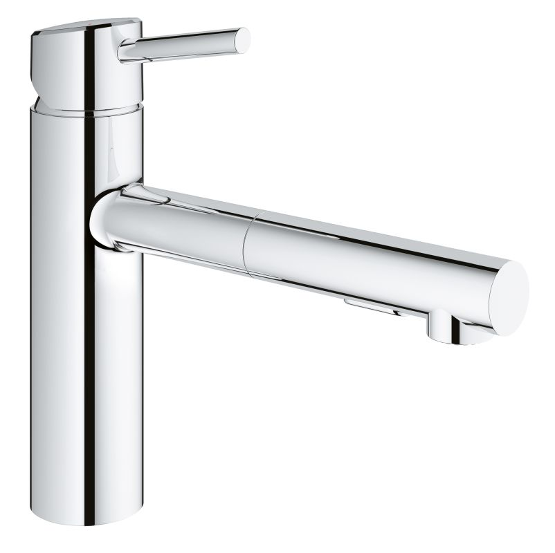... Grohe Concetto Kitchen Faucet By Grohe 31453001 Starlight Chrome  Concetto Pull Out Kitchen ...