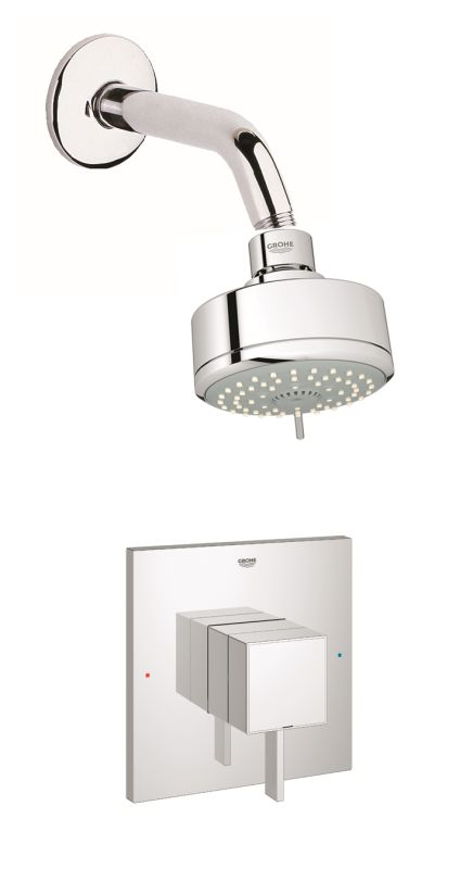 Gss Eurocube Spb 01 000 In Starlight Chrome By Grohe