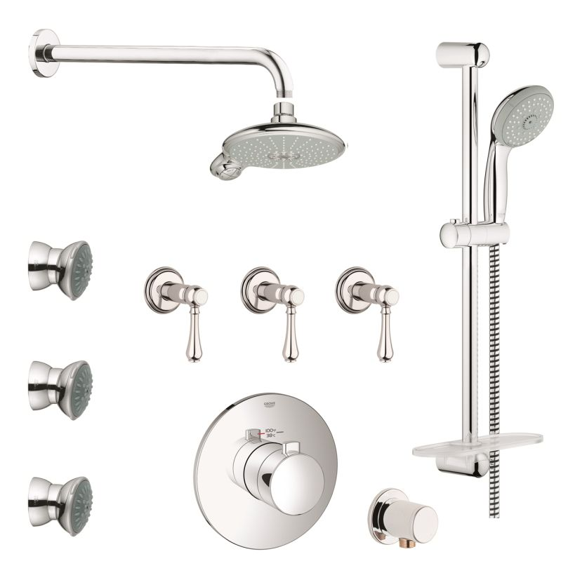 grohe gss europlus cth 08 000 starlight chrome europlus. Black Bedroom Furniture Sets. Home Design Ideas