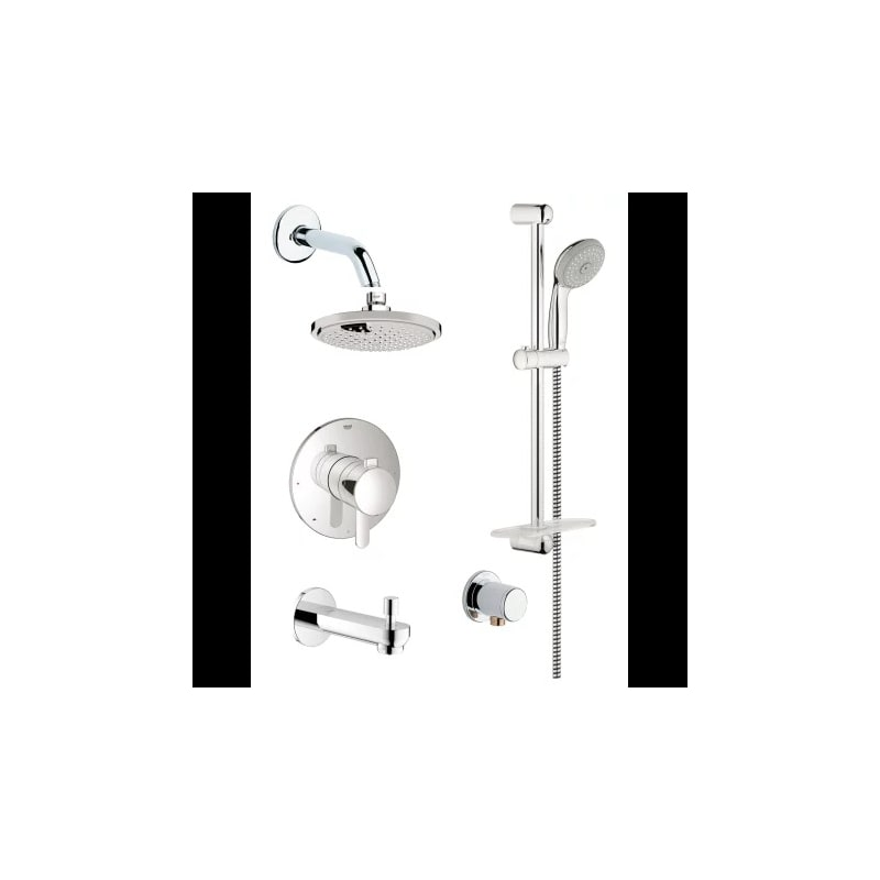 Gss Europlus Tpb 06 000 In Starlight Chrome By Grohe