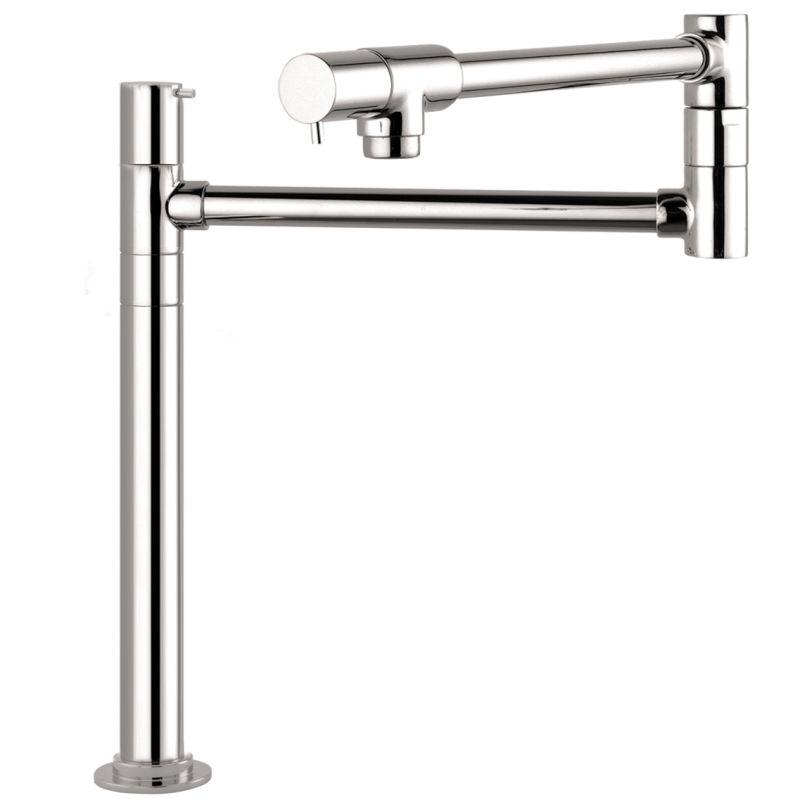 Hansgrohe 04058000 Chrome Talis S Pot Filler Faucet Deck