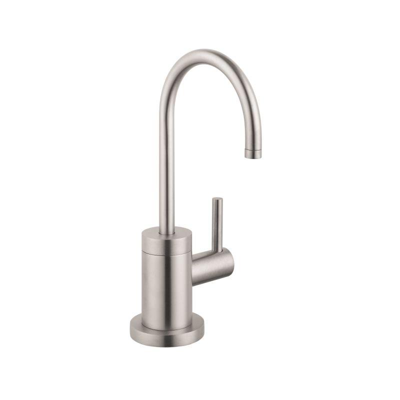 Faucet Com 04301800 In Steel Optik By Hansgrohe