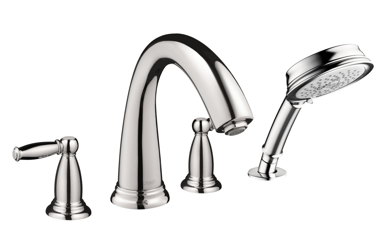 Hansgrohe 06123000 Chrome Swing C Roman Tub Filler Faucet