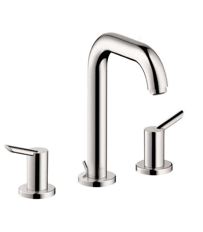 Hansgrohe 31730001 chrome focus s widespread bathroom faucet with ecoright and quick clean - Hansgrohe pop up drain ...