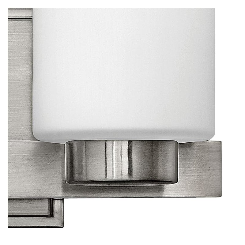 Can Vanity Lights Be Installed Upside Down : Hinkley Lighting 5052BN Brushed Nickel 2 Light 13