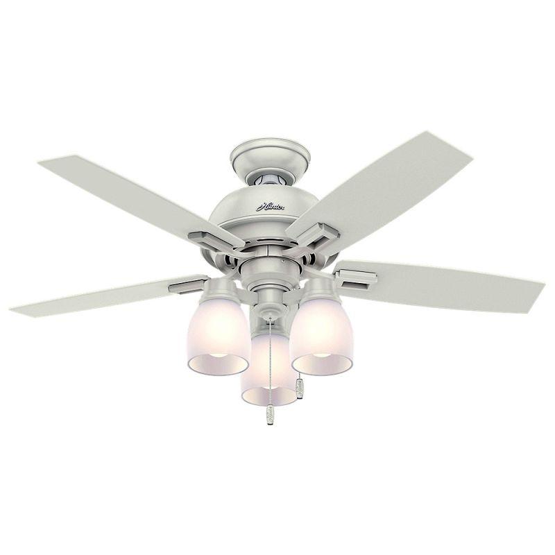 Hunter 52229 Fresh White 44 Quot Ceiling Fan 5 Reversible