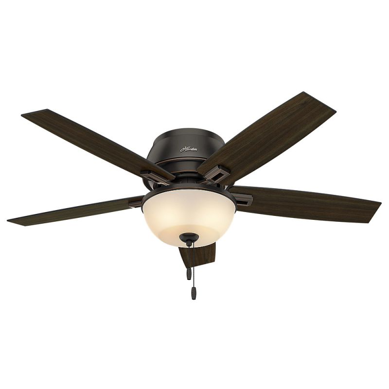 """Hunter 53342 Onyx Bengal 52"""" Indoor Ceiling Fan - 5 ..."""