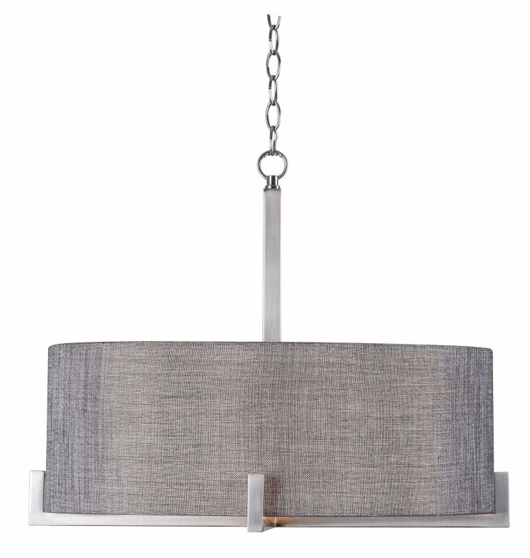 Kenroy Home 93325bs Brushed Steel Wiley 4 Light Pendant