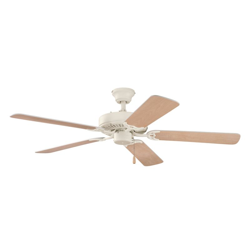 """Kichler 339010ADC Adobe Cream 52"""" Indoor Ceiling Fan with 5 Blades ..."""