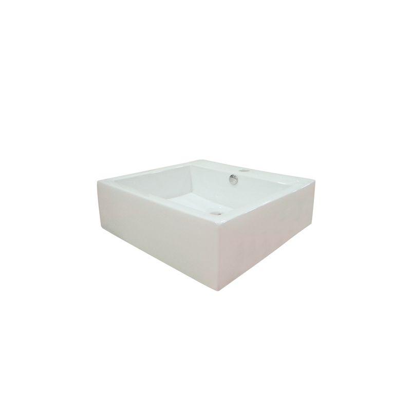 Faucet Com Ev4042 In White By Kingston Brass