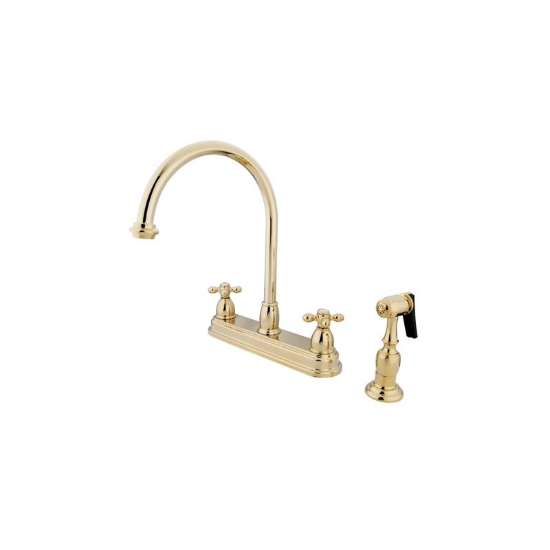 Kingston Brass Kitchen Faucet With Spray