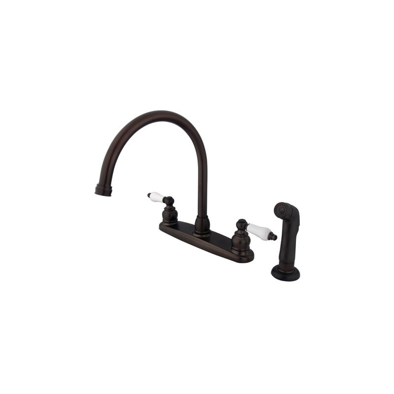 Kingston Brass Kb725sp Oil Rubbed Bronze Vintage Centerset