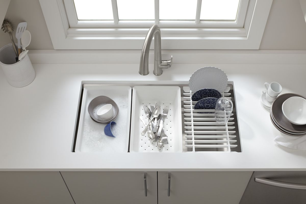 Kohler Single Basin Stainless Steel Undermount Kitchen Sink