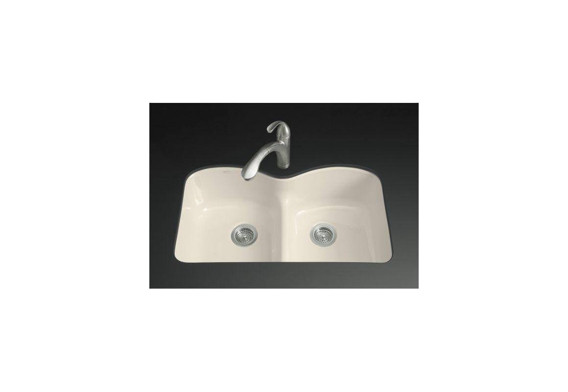 Kohler Sink Protectors : Kohler k-6626-6U-47 Almond Langlade 33