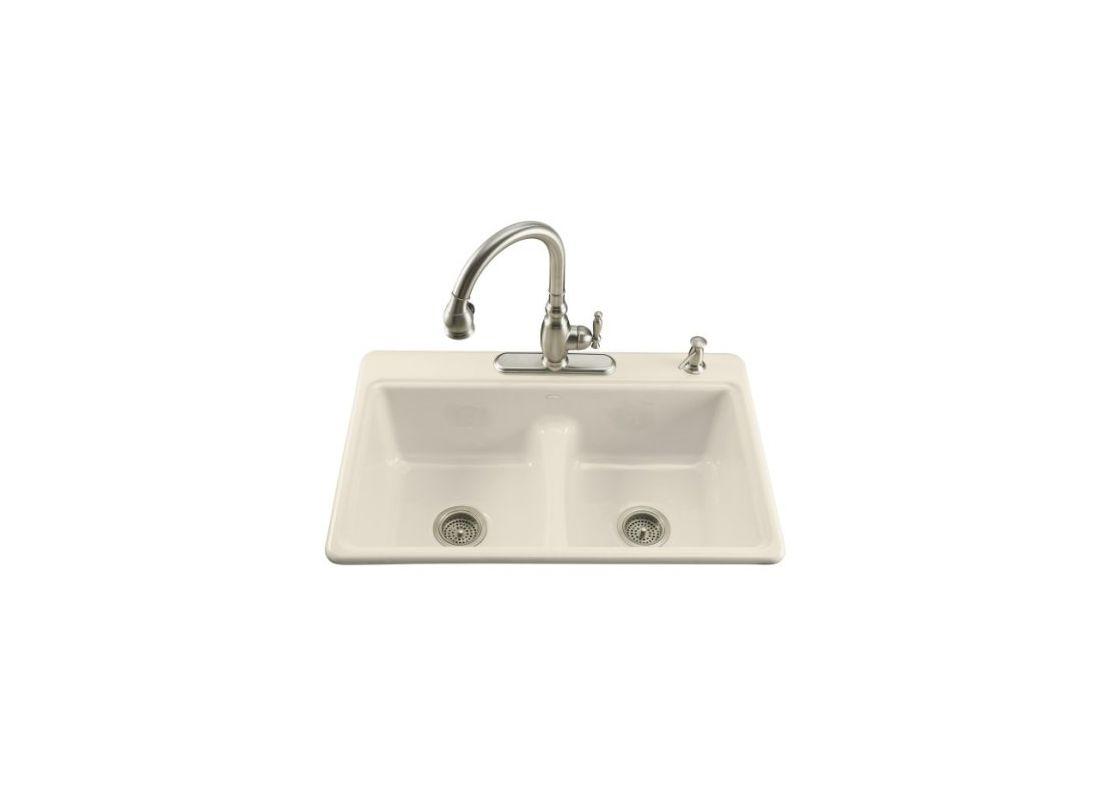 Jacuzzi Cast Iron Kitchen Sink