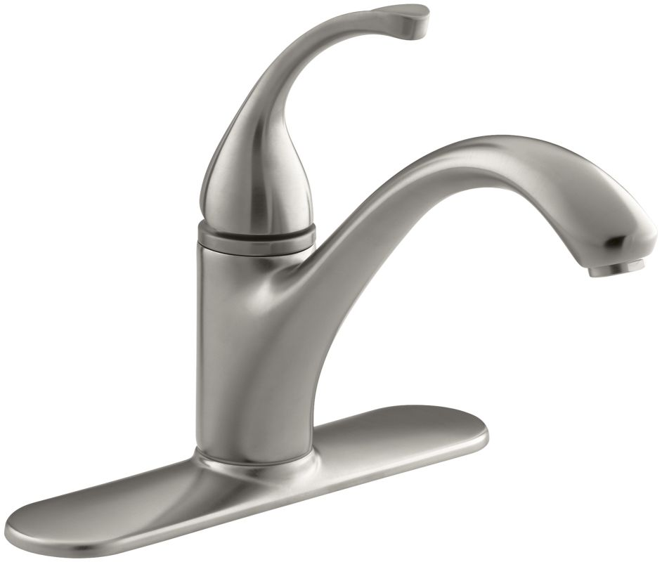 Kohler K 10411 Vs Stainless Single Handle Kitchen Faucet