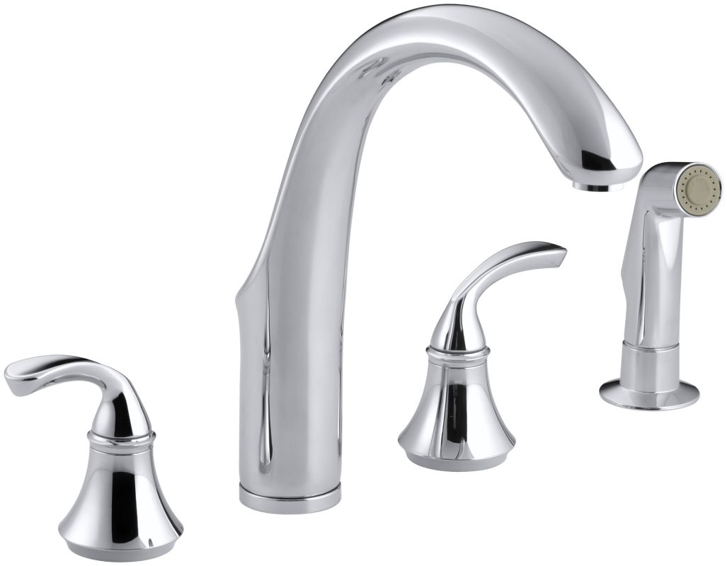 Forte Kitchen Faucet Faucet Com K 10445 Cp In Polished Chrome By Kohler