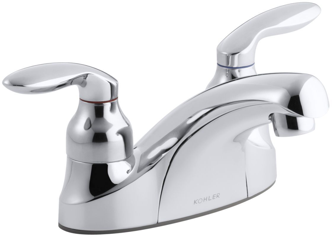 K 15240 4 cp in polished chrome by kohler for Coralais bathroom faucets