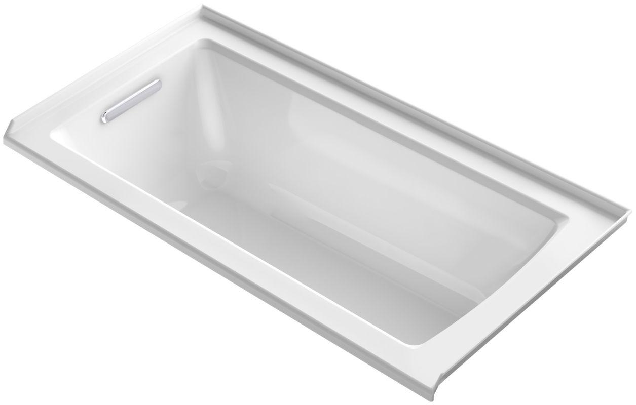 Kohler Kbf1946 L 0 White Archer Drop In Soaking Tub With