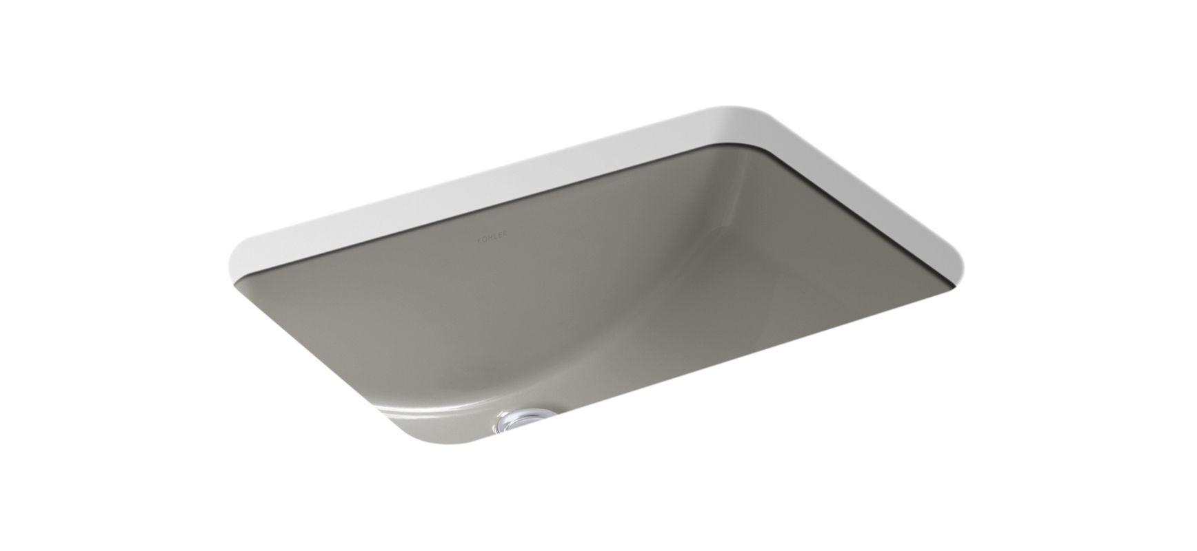 ... Kohler Ladena Sink K 2214 By Kohler K 2214 K4 Cashmere Ladena 18 3 8  Quot ...