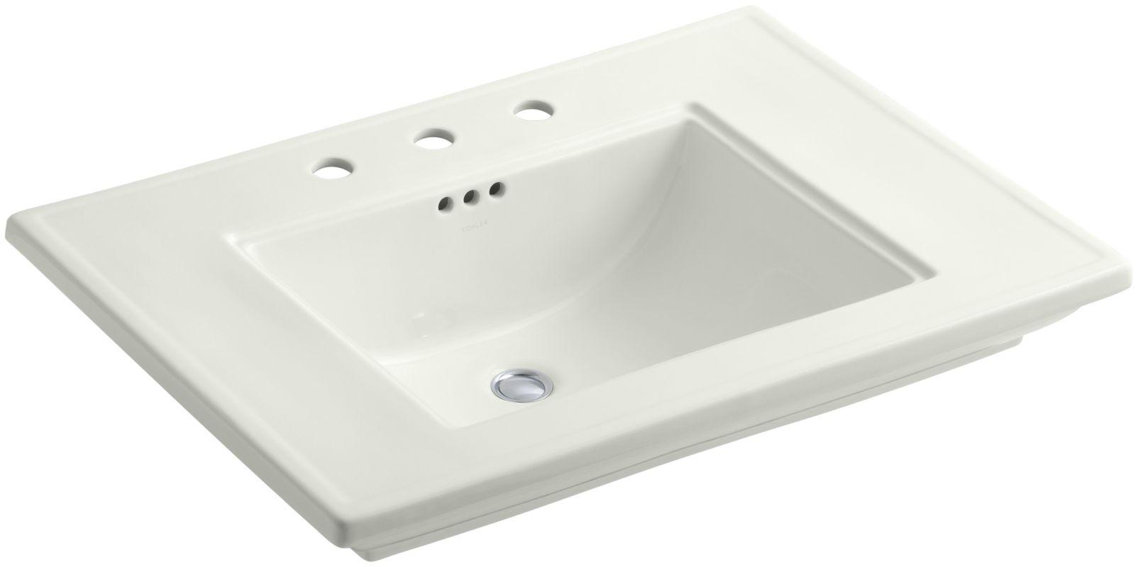 Kohler Pedestal Sink Towel Bar : Kohler K-2269-8-NY Dune Memoirs Stately 30