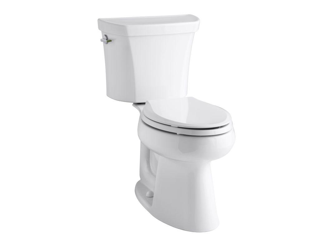 Kohler K 3989 0 White Highline Dual Flush Two Piece
