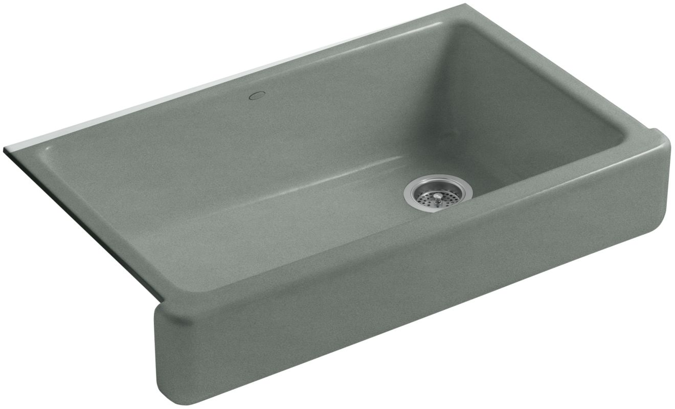 Kohler K 6488 Ft Basalt Whitehaven 36 Quot Single Basin
