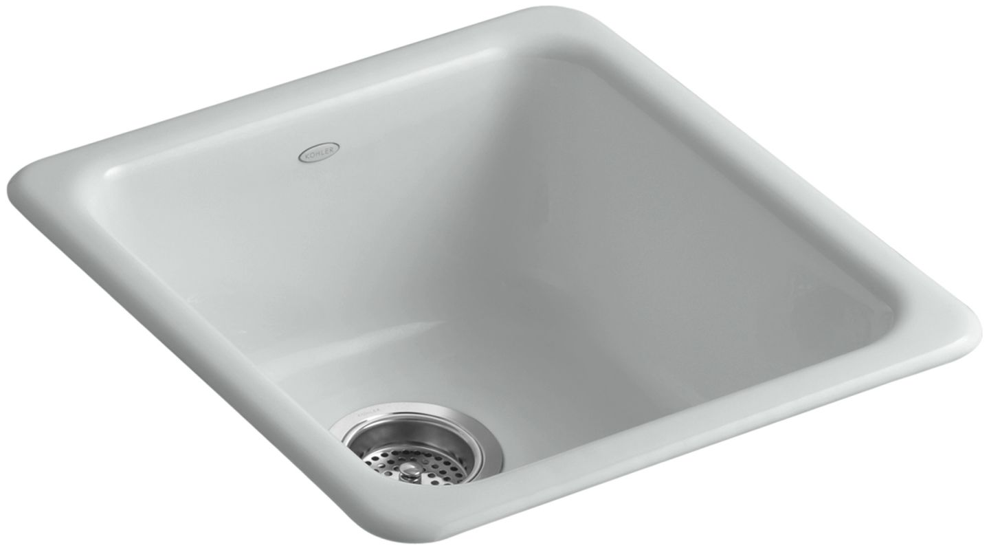 Kohler K 6584 95 Ice Grey Iron Tones 17 Quot Single Basin Top