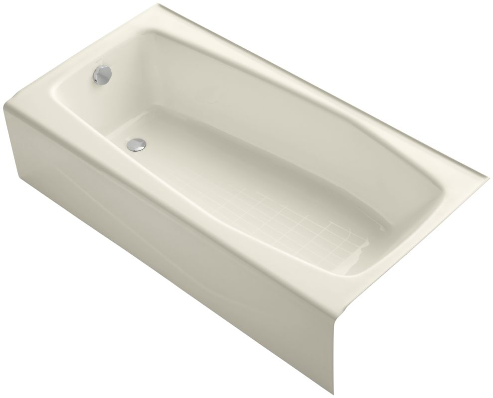 Kohler K 715 47 Almond Villager Collection 60 Quot Three Wall