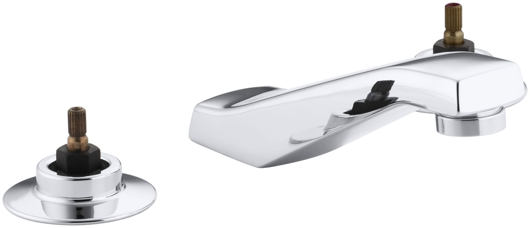 Kohler K 7443 Ke Cp Polished Chrome Triton Widespread