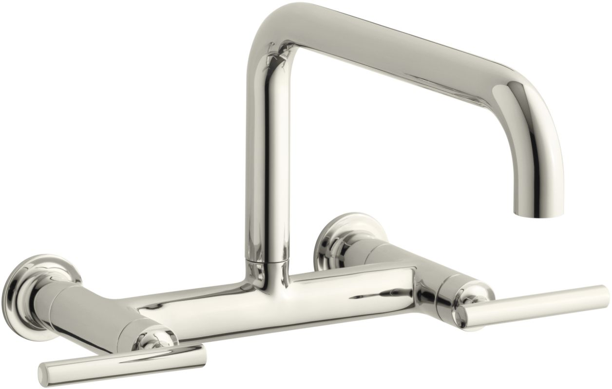Kohler Purist Wall Mounted Kitchen Faucet Chrome Height