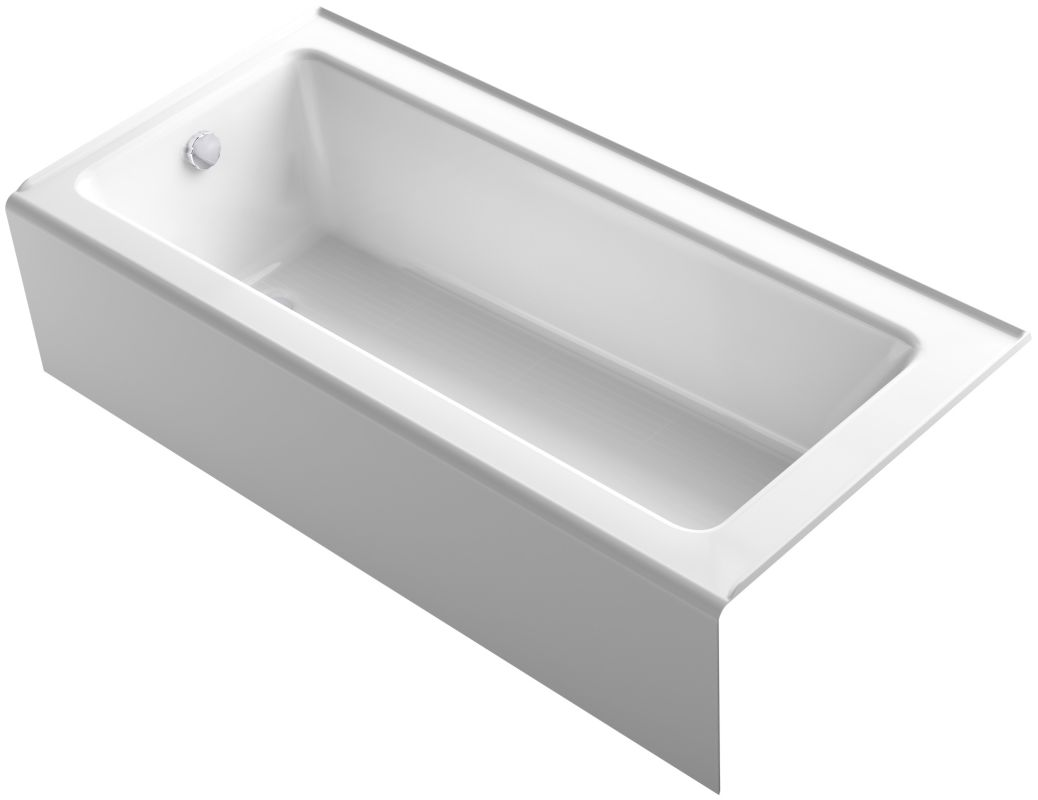Kohler K 847 0 White Bellwether Bath Tub 66 Quot L X 32 Quot W