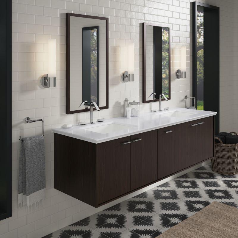Faucet Com K 99550 Sd 1wu In Batiste Black By Kohler