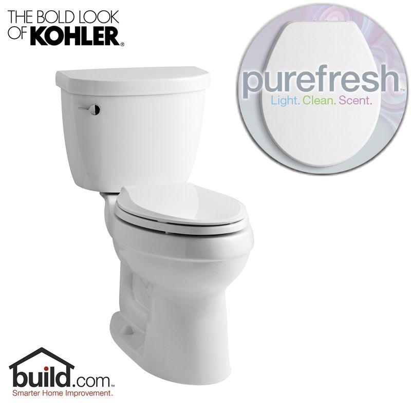 Kohler Purefresh K 3589 White Cimarron 1 6 Gpf Elongated