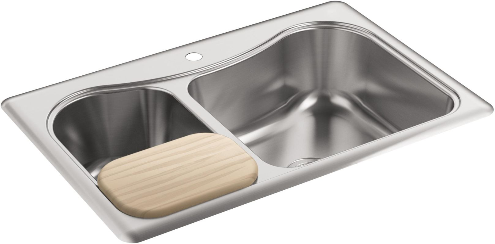 How To Fit A Kitchen Sink Into A Larger Hole