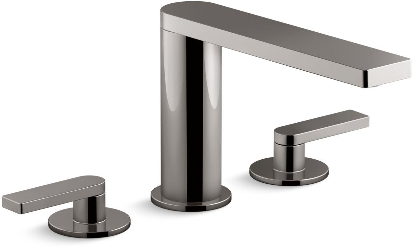 Kohler K 73081 4 Tt Vibrant Titanium Composed Widespread