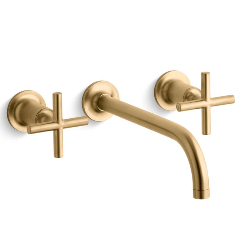 Kohler K T14414 3 Bgd Vibrant Moderne Brushed Gold Purist