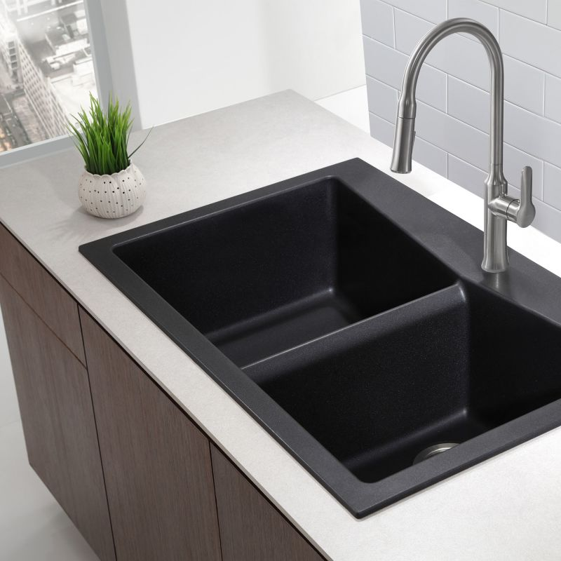 Faucet Com Kgd 430b In Black Onyx By Kraus