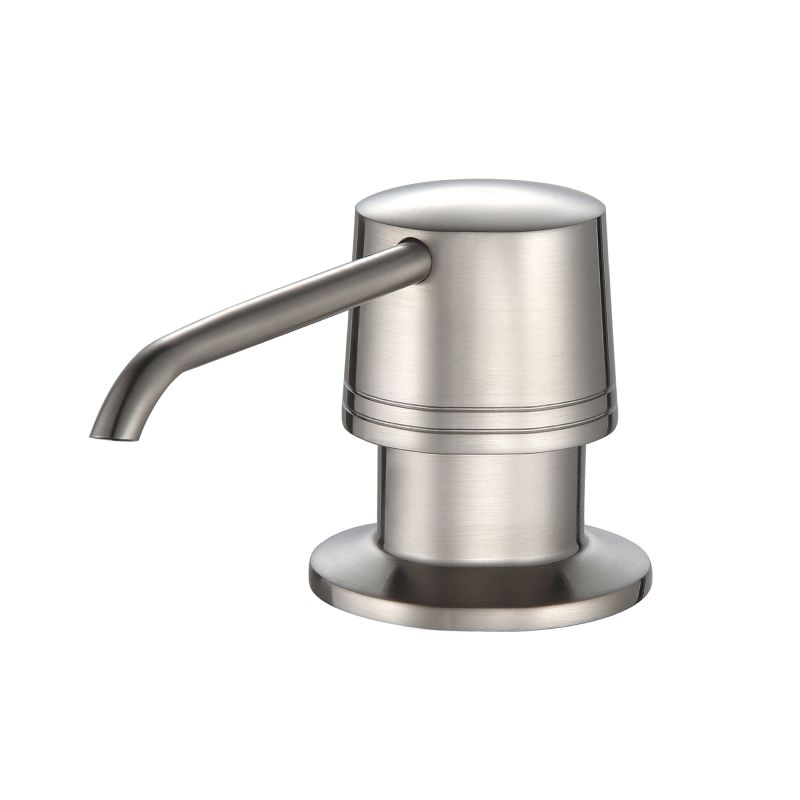 Khu102 33 kpf2220 ksd30ch in stainless steel for Faucet and soap dispenser placement