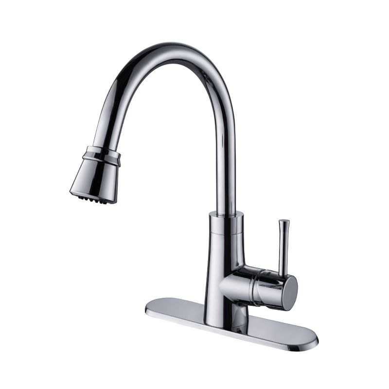 Kraus KPF-2220CH Chrome Pullout Spray Kitchen Faucet