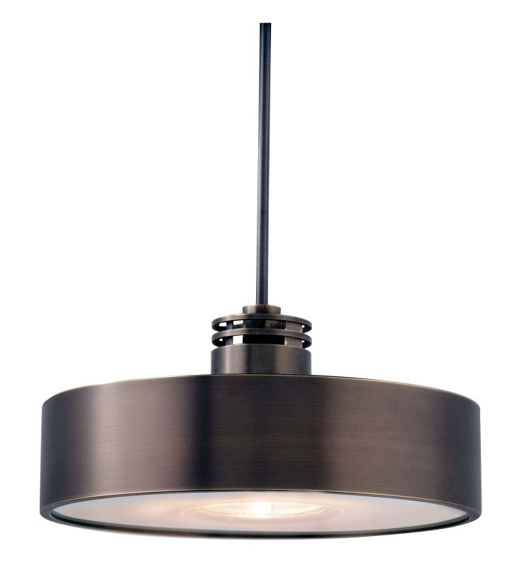 Lbl lighting hs381bz bronze single light disk shaped mini for S shaped track lighting