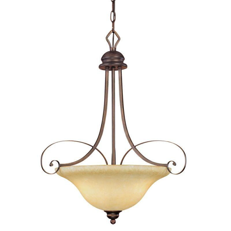 Millennium lighting 1083 rbz rubbed bronze chateau 3 light for 1083 3