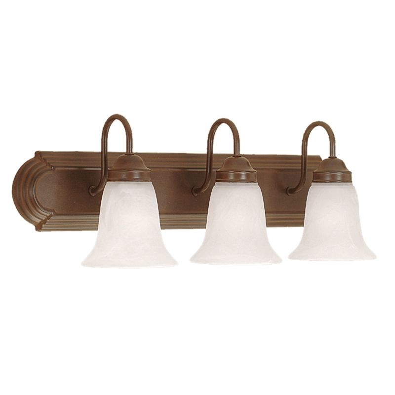 Vanity Light Without Junction Box : Millennium Lighting 483-BZ Bronze 3 Light Bathroom Vanity Light - LightingDirect.com