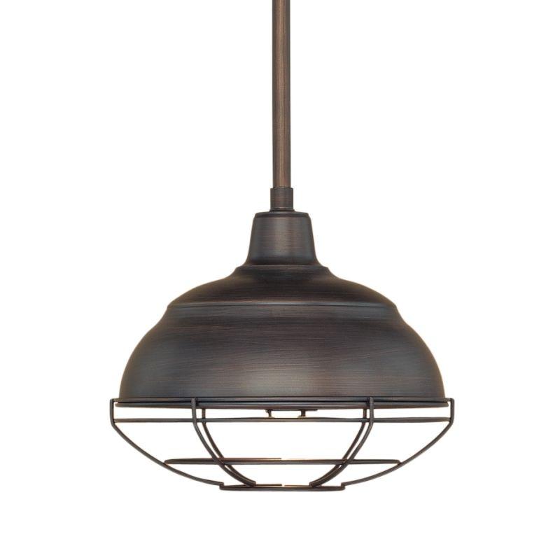 6 Light Industrial Style Star Shape Pendant