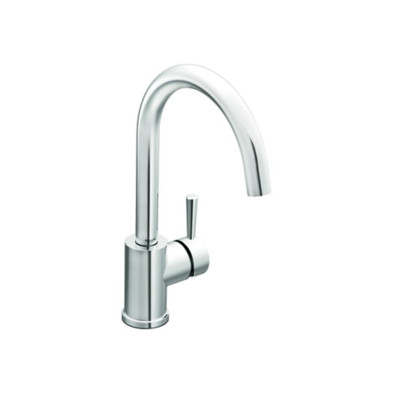 Moen 7100 Chrome Single Handle Kitchen Faucet From The