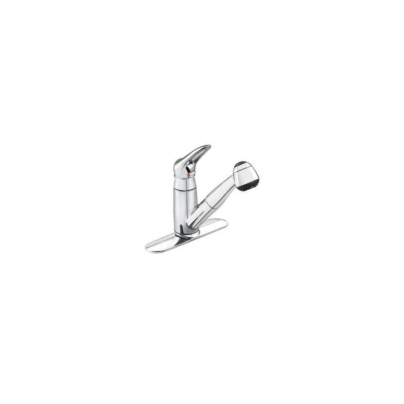 Moen 7570c Chrome Single Handle Kitchen Faucet With