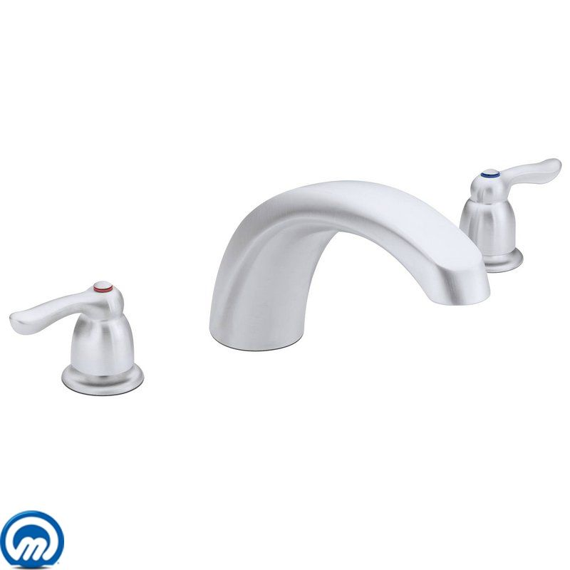 Faucet Com T990bc In Brushed Chrome By Moen