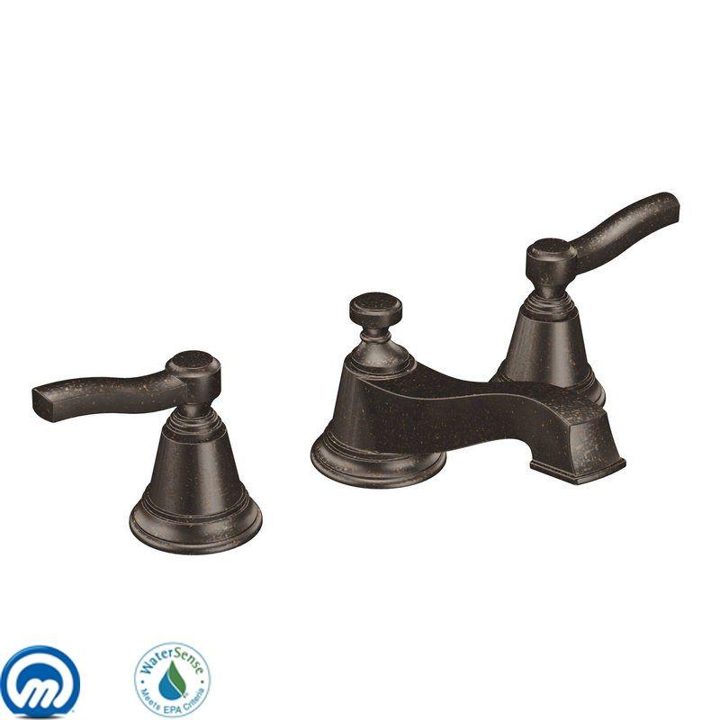 Moen Ts6205orb Oil Rubbed Bronze Double Handle Widespread